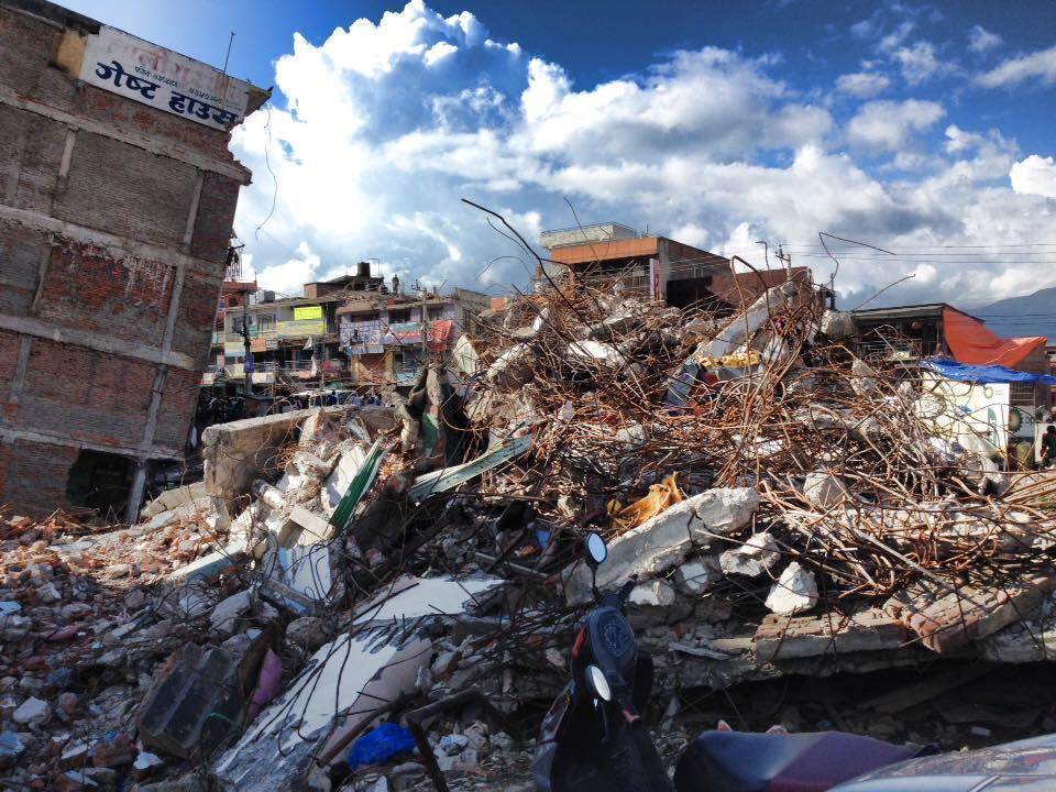 De nombreux bâtiments historiques de la capitale népalaise ont été détruits par le tremblement de terre.