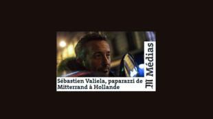 Fotomontagem do site Le Monde que publica artigo sobre o paparazzi.
