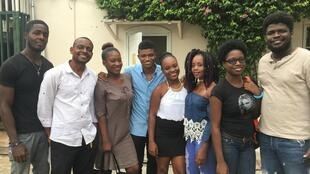 L'équipe du film «Isabelle».