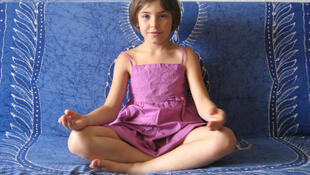 Méditation pour les enfants.