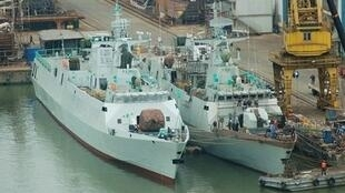 Trong 5 năm nữa, Trung Quốc sẽ có 5 tàu ngầm hạt nhân và hàng chục tàu chiến trang bị tên lửa đạn đạo liên lục địa (mod.gov.cn)