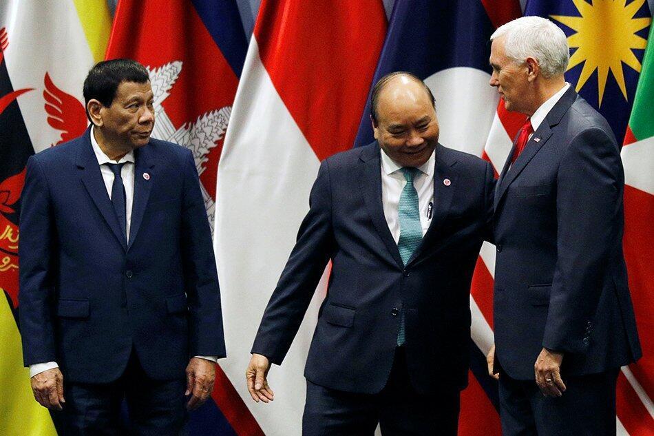 參加東盟峰會的部分國家領導人資料圖片