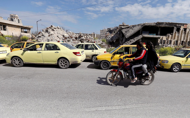 Một góc thành phố Aleppo, Syria ngày 11/04/2019.