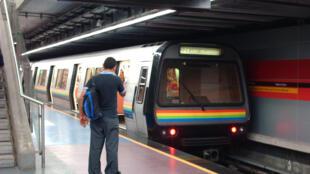 Trạm Nuevo Circo, tàu điện ngầm ở Caracas, Venezuela.