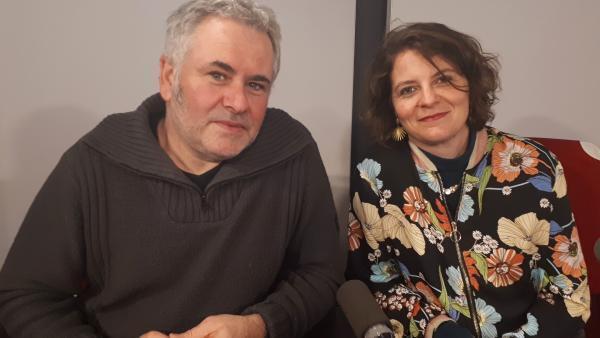 Roland Nespoulet et Camille Daujeard.