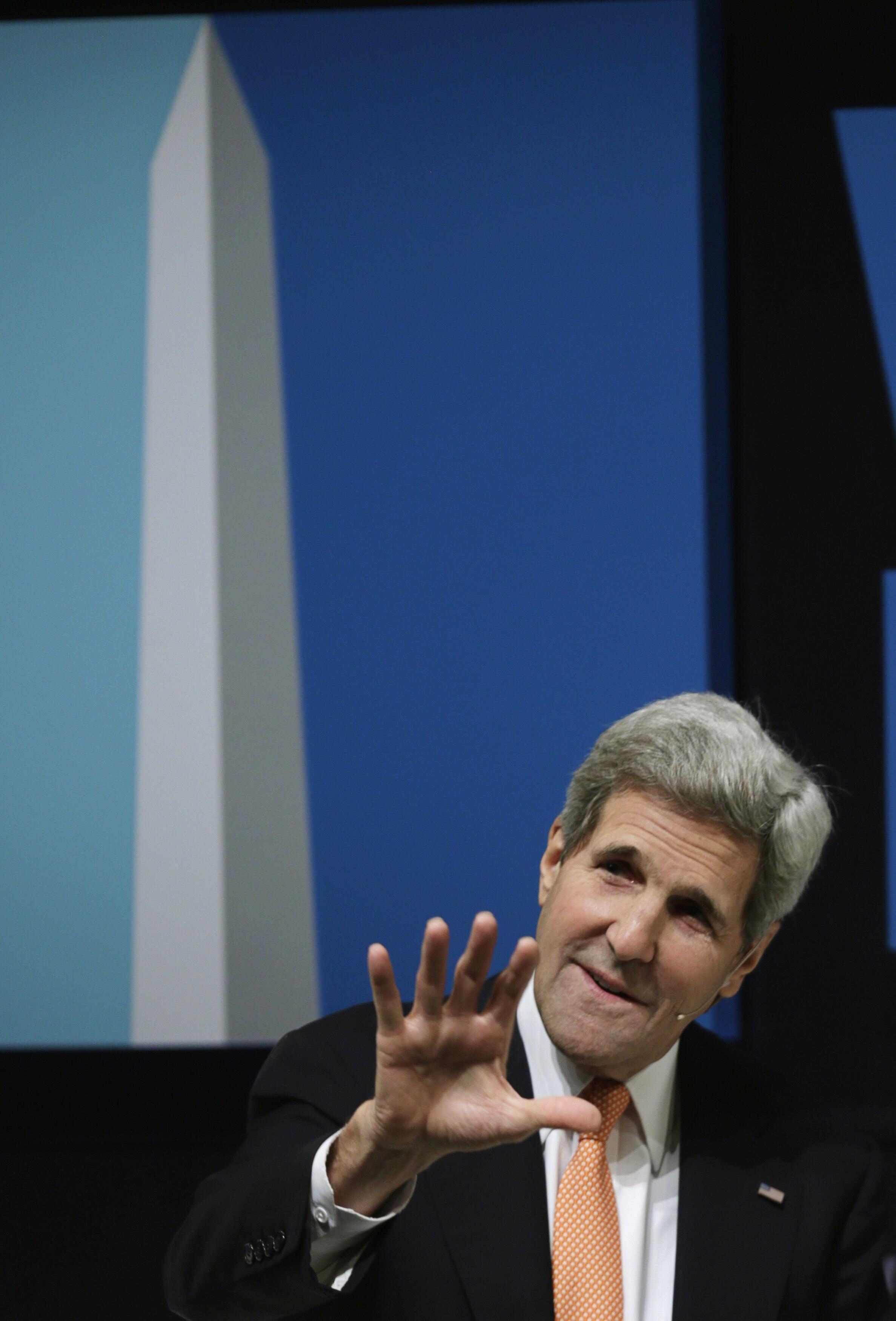 جان کری، وزیر امور خارجه آمریکا