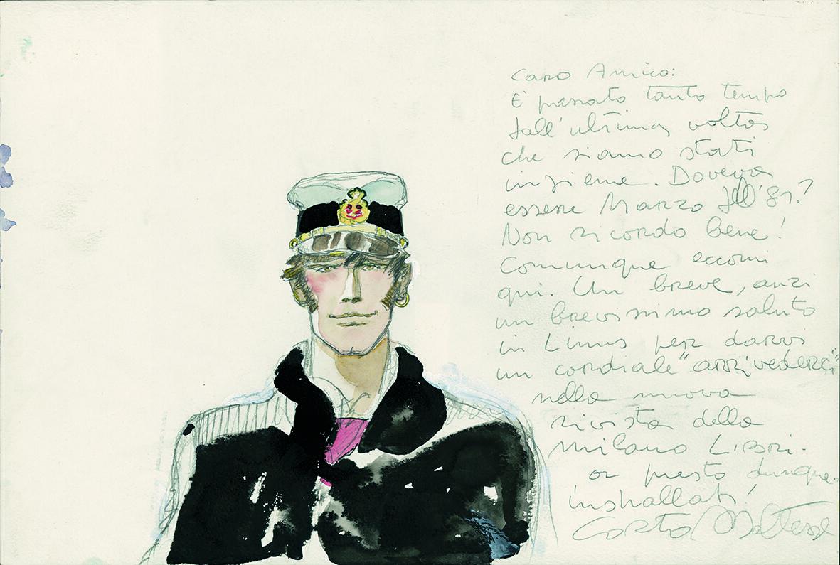 Corto Maltese – Portrait (1983).