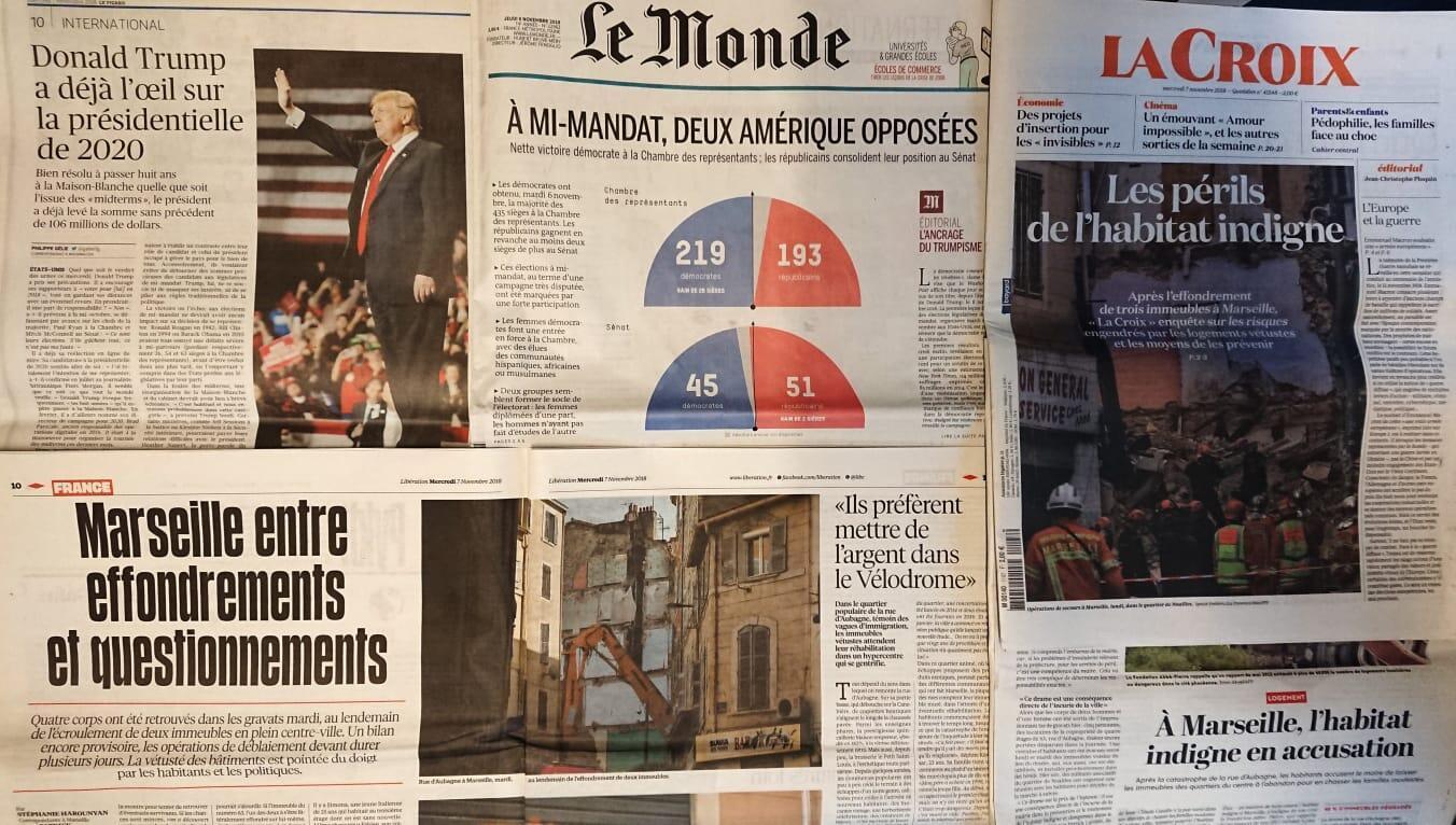 Revista de Imprensa francesa. 07/11/2018.
