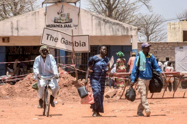 Fronteira entre a Gâmbia e o Senegal