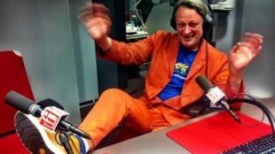 Олег Сосновиков в студии RFI