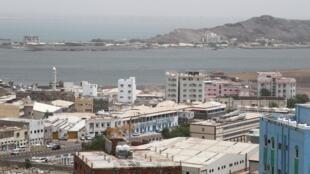 Vue générale d'Aden, la plus grande ville du sud du Yémen (image d'illustration).