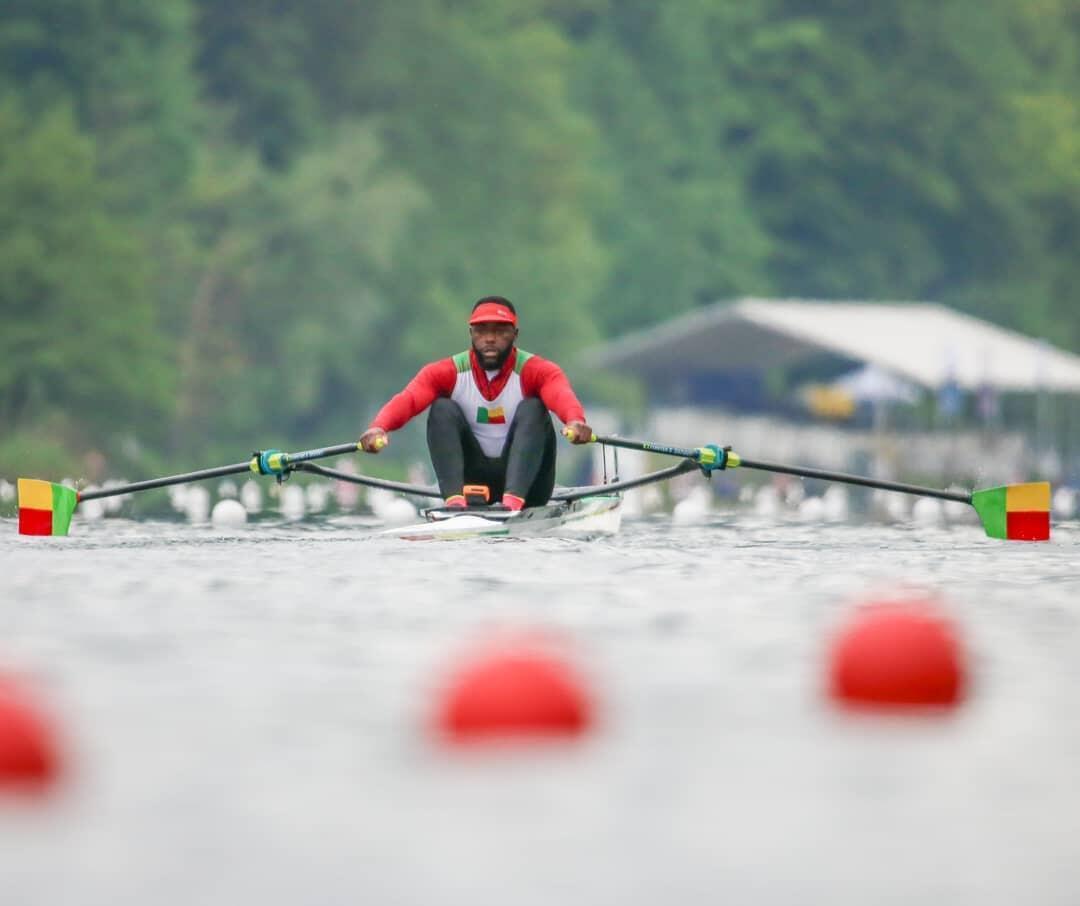 Rower Privel Hinkati, Benin's Olympic hope