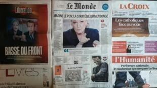 Diários franceses desta quinta-feira 04 de Maio de 2017.