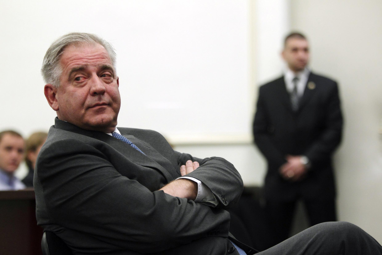 L'ex-Premier ministre Ivo Sanader au tribunal de Zagreb, le 20 novembre 2012.