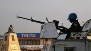 La Minusca est présente à Damara, ville centrafricaine à 80 kilomètres de Bangui, visée par une attaque le 2 janvier 2020 (Photo d'illustration)
