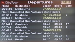 Além da América Latina, aeroportos da Austrália e da Nova Zelândia tiveram o tráfego perturbado pelo vulcão chileno.