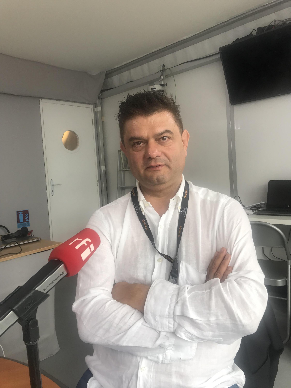 Realizador e produtor português Joaquim Sapinho em Cannes a 19 de Maio de 2019.