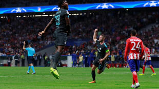 Michy Batshuayi came on after 82 minutes as a replacement for Alvaro Morata.
