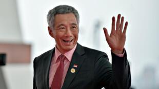 2016年杭州出席G20峰会的新加坡总理李显龙