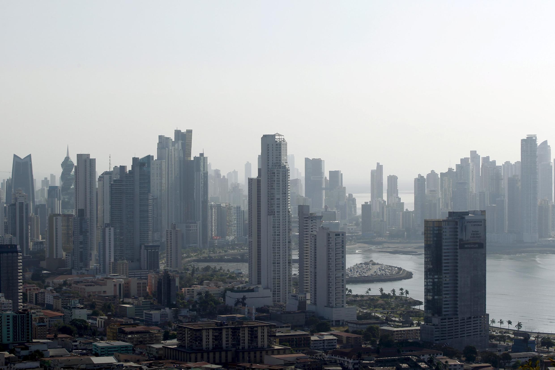 Một góc thành phố Panama