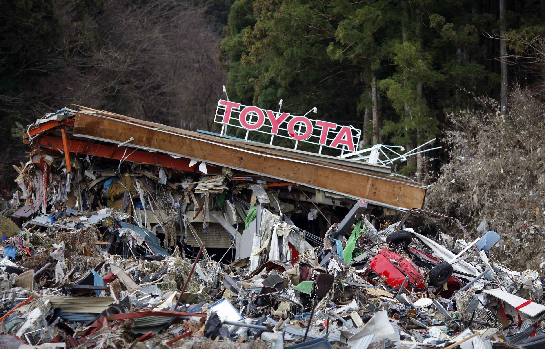 As fábricas da Toyota no Japão vão produzir somente 50% do previsto até 3 de junho.