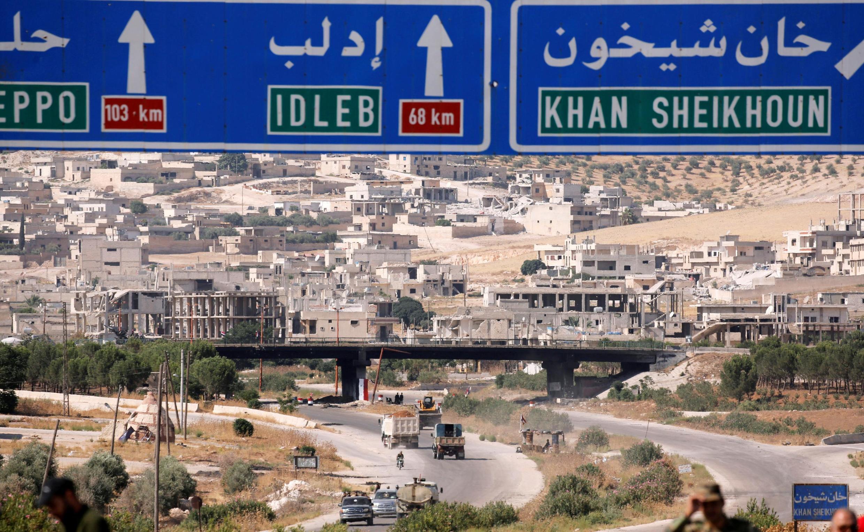 سوریها از جنوب استان ادلب به مناطق همجوار فرار میکنند