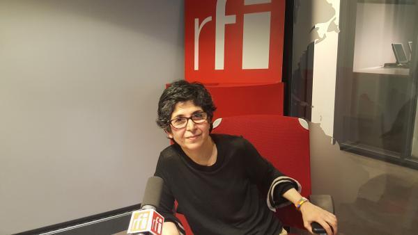 فریبا عادلخواه، پژوهشگر فرانسوی-ایرانی در استودیوی ار.اف.ای ـ ٨ فوریه ٢٠١٧