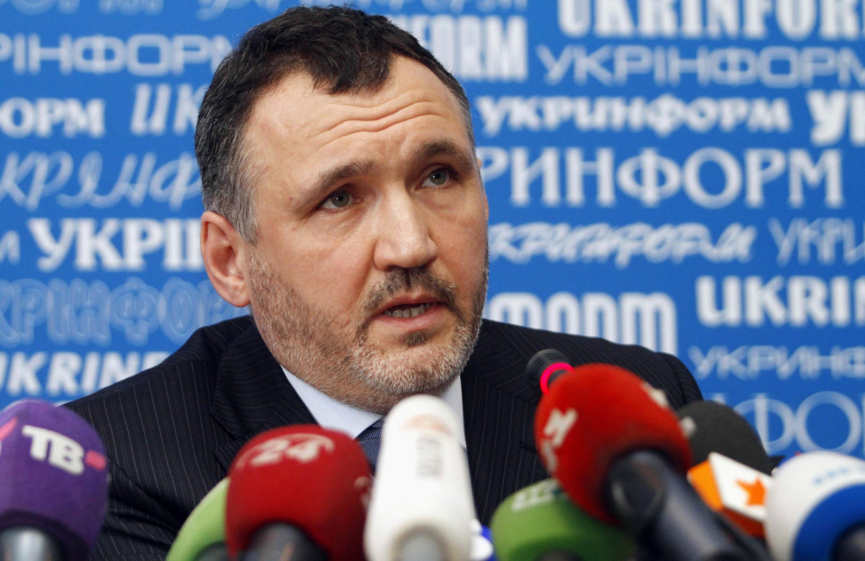 Первый зам. генпрокурора Украины Ренат Кузьмин на пресс-конференции в Киеве 22/03/2011