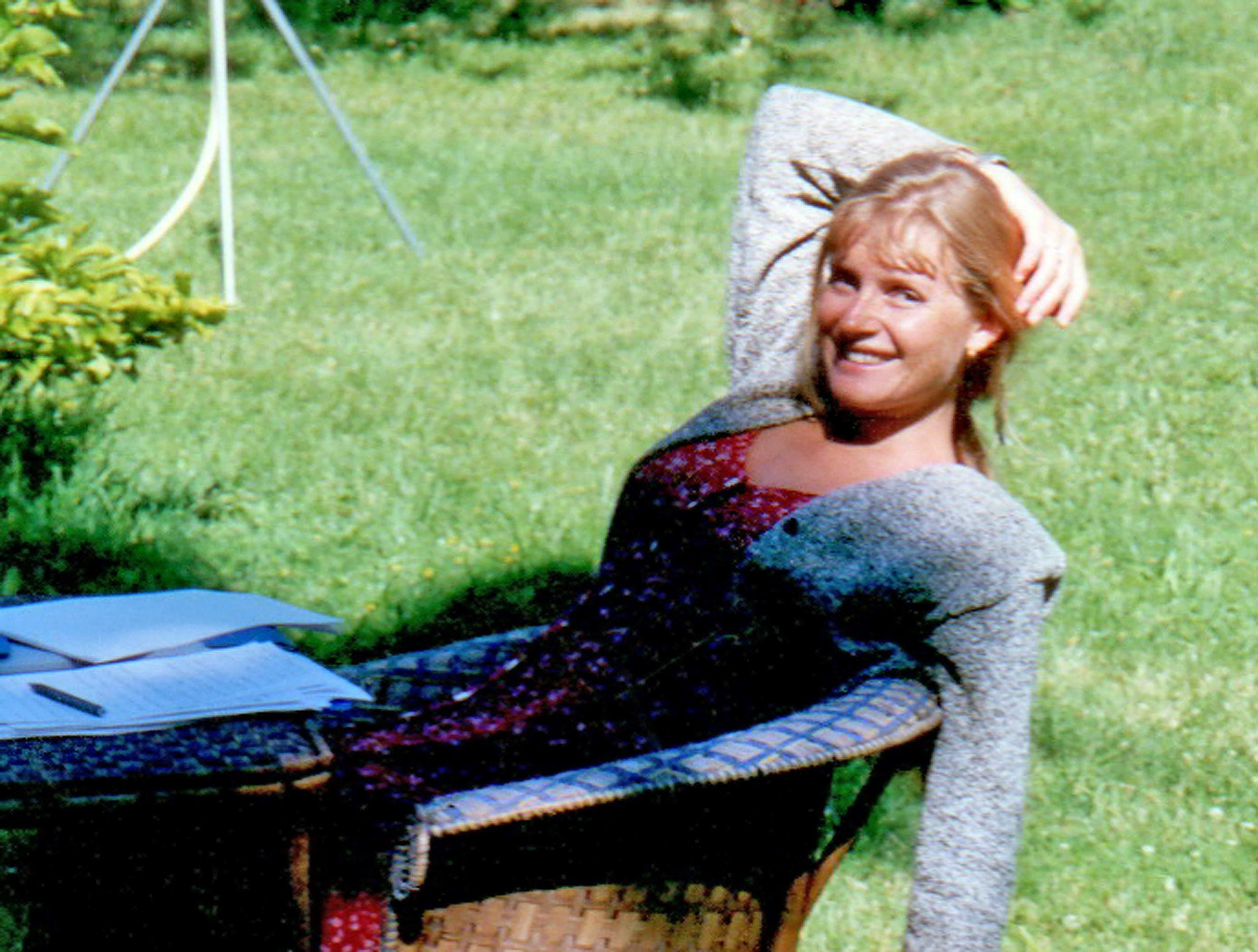 Undated family photo of Sophie Toscan du Plantier, a French television producer murdered in Ireland in 1996. The trial of the alleged murderer began in Paris on 27 May 2019.