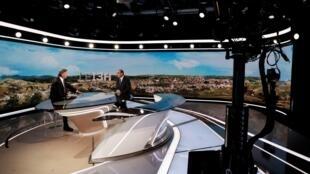 Prise de parole de Jean Castex au 13h de TF1, 21 juillet 2021.