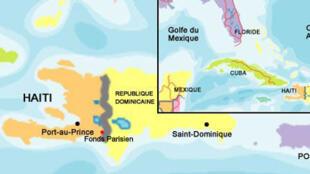 Carte de Haïti