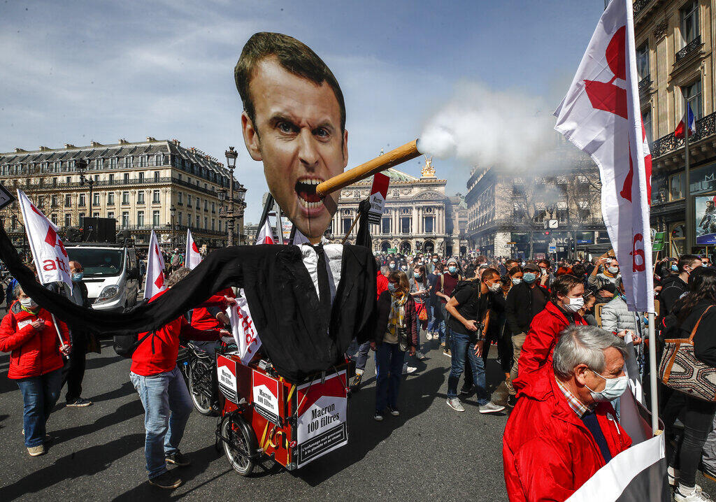 Protesto clima Paris