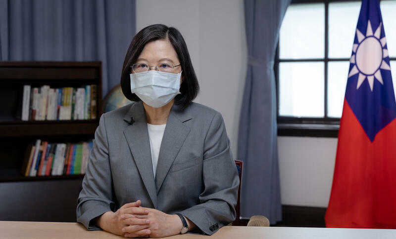 台灣總統蔡英文Taiwan-Cai Yingwen