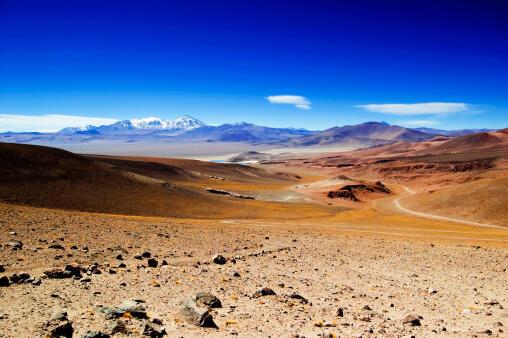 Le désert d'Acatama au Chili