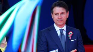 Tân thủ tướng Ý Giuseppe Conte, tại Roma, ngày 2/06/2018.