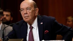 """O secretário de Comércio dos Estados Unidos, Wilbur Ross, considerou que não houve """"progressos suficientes"""" nas negociações com a UE."""