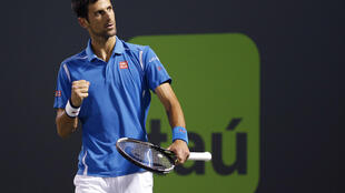 Novak Djokovic is trying to equal Andre Agassi's haul of six titles at the Miami Masters.