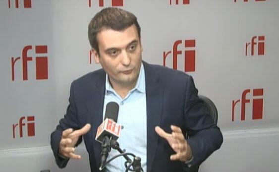 Вице-президент Нацифонального фронта Флориан Филиппо