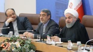 حسن روحانی رییس جمهوری اسلامی ایران