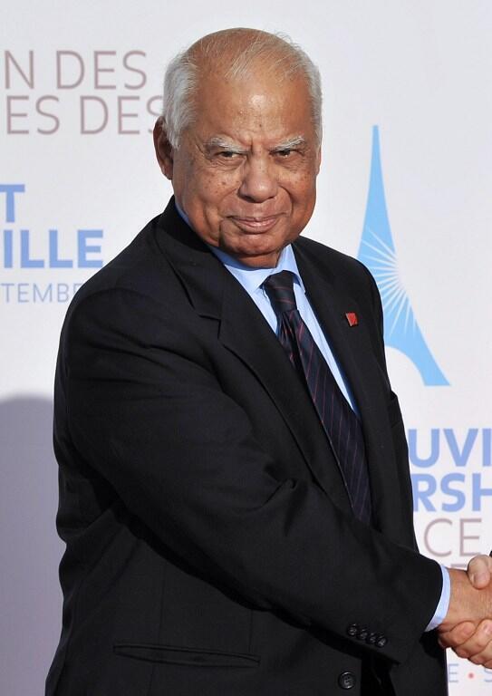 Hazem el-Beblaoui, ici le 10 septembre 2011 à Marseille au G7 des ministres des Finances.s.