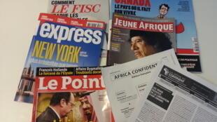 Capas de magazines news franceses de 22 de outubro de 2016