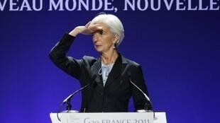 Christine Lagarde, chefe do FMI, espera reforçar a capacidade financeira da instituição.