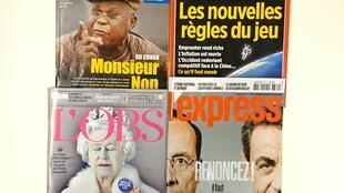 As revistas francesas desta semana