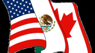 Logo del Tratado de Libre Comercio de América del Norte (TLCAN).