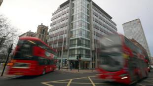 Le bâtiment abritant le siège de Cambridge Analytica dans le centre de Londres.