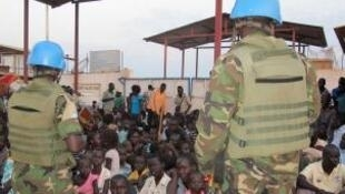 Mamia ya watu wa Sudan Kusini wamekimbilia katika kituo cha Umoja wa Mataifa mjini Juba
