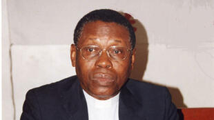 Le père Alphonse Quenum, recteur émérite de l'université catholique d'Afrique de l'Ouest.