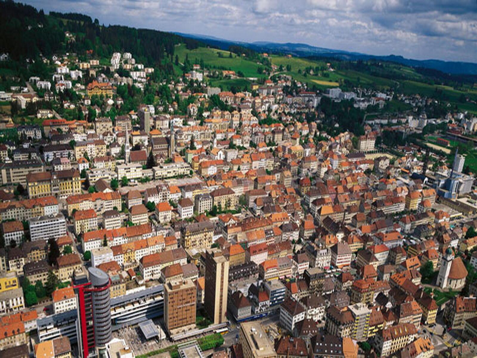 世界文化遺產:瑞士拉紹德封(La Chaux-de-Fonds)