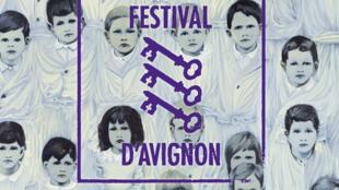 Cartaz da 72ª Edição do Festival de Teatro de Avignon