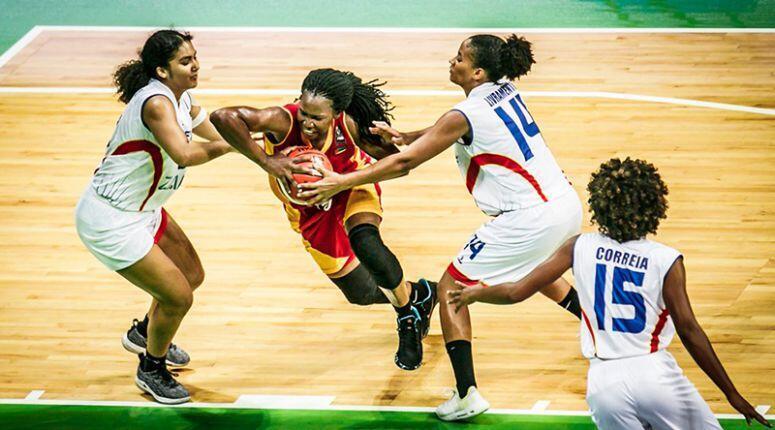 A selecção cabo-verdiana de basquetebol feminina perdeu com a sua congénere de Moçambique por 51-60, 13 de Agosto de 2019